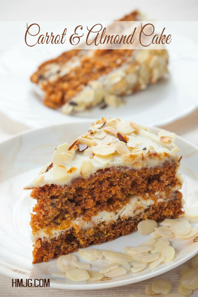 Carrot & Almond Cake Recipe